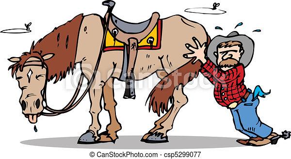 push start horse - csp5299077