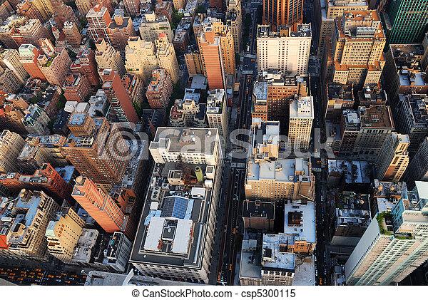 New York City skyscrapers - csp5300115