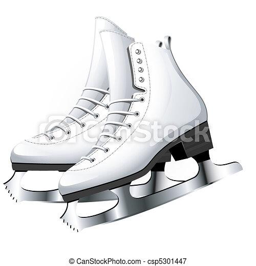 illustrations vectoris es de patinage figure figure skating sur white eps 8 ai. Black Bedroom Furniture Sets. Home Design Ideas
