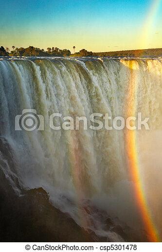 Victoria Falls - csp5301478