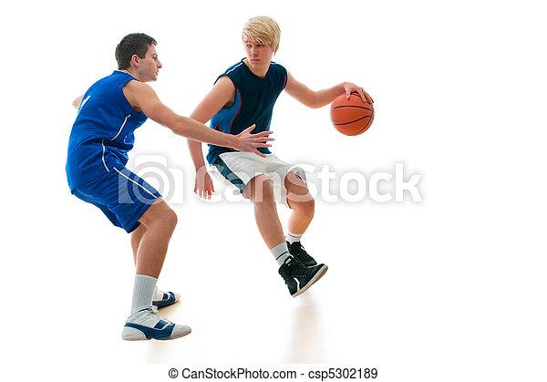 basketball game - csp5302189