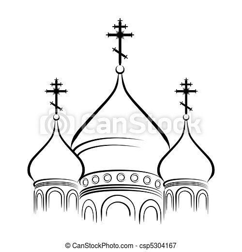 The Cathedral Domes - csp5304167