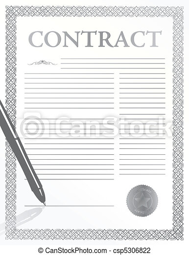 signing contract - csp5306822
