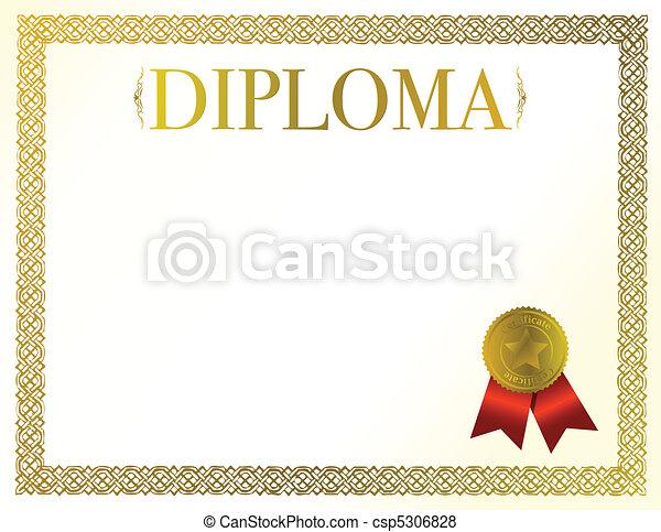 diplôme - csp5306828