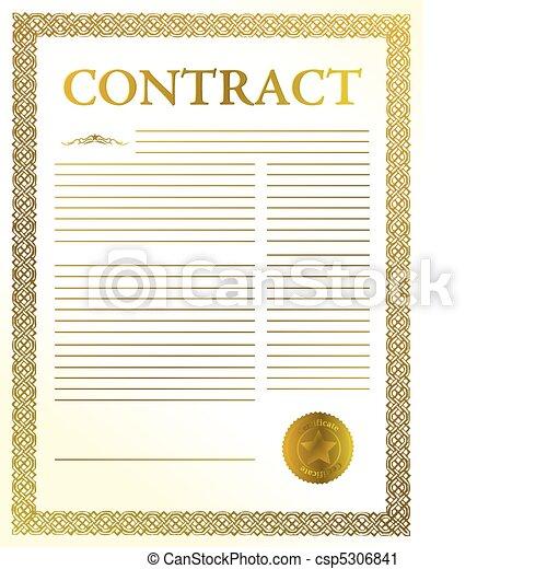 contract - csp5306841