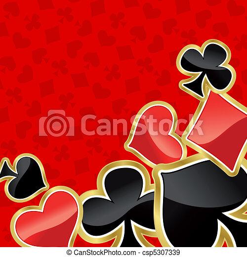 Poker background - csp5307339