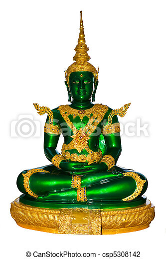 Emerald buddha for summer - csp5308142