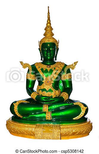 Emerald buddha for summer - csp5308142
