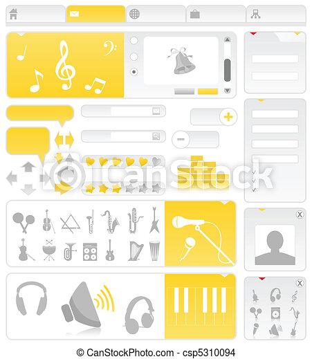 Musical site - csp5310094