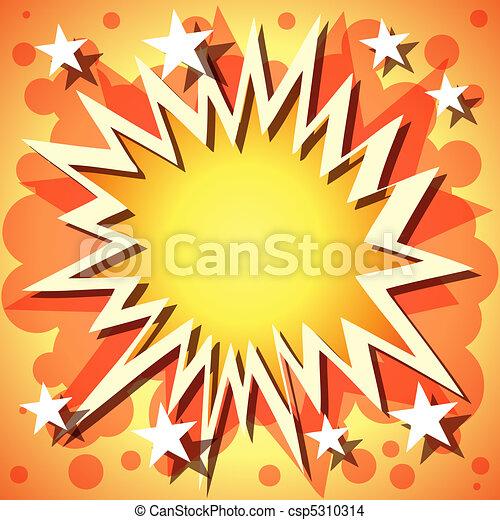 Explosion Background - csp5310314