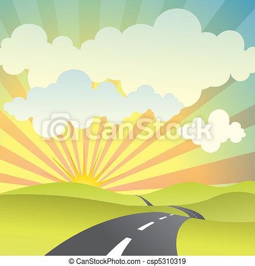Country Landscape - csp5310319