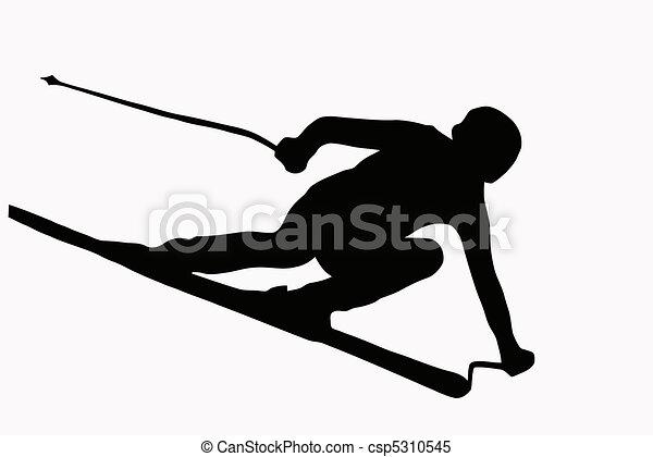 Ski Illustrations and Clip Art. 15,759 Ski royalty free ...