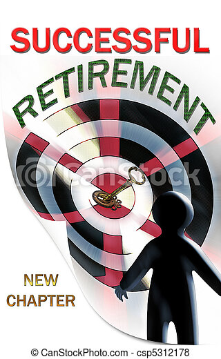 Retirement, a New Chapter in Life - csp5312178