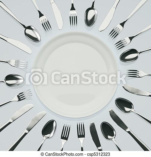 Waiting for dinner - csp5312323