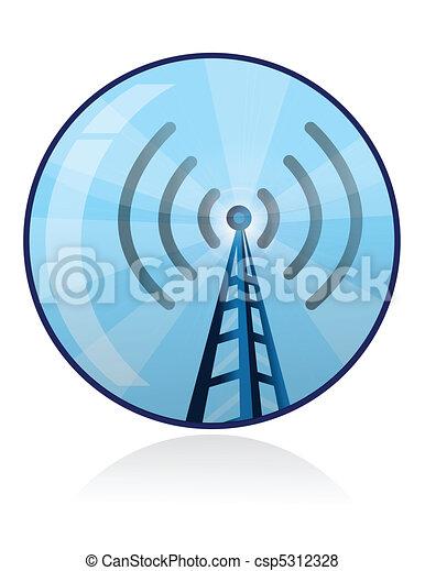 wi-fi icon - csp5312328