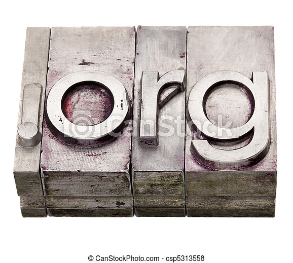 dot org - organization internet domain - csp5313558