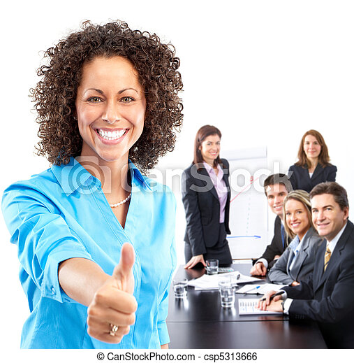 gens,  Business, équipe - csp5313666
