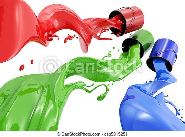 RGB Paint - csp5315251