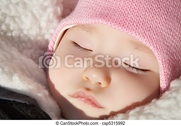 Sleeping baby - csp5315992