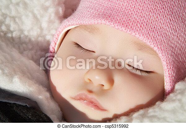 Sleeping baby - csp5315992