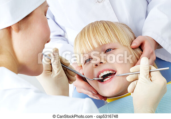 Dental examination - csp5316748