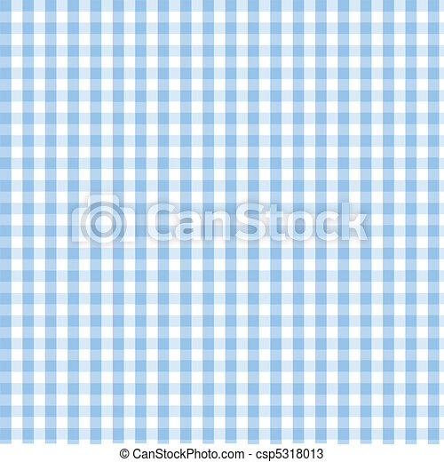 Seamless blue plaid pattern - csp5318013