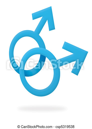 can stock photo csp5319538 Stock Photo   Gay male symbol. Gay male symbol   csp5319538. Gay male symbol