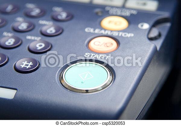 Laser copier and fax - csp5320053