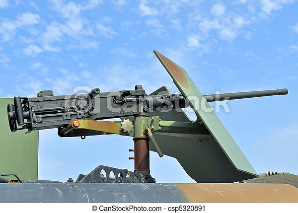 .50 Caliber Machinegun - csp5320891