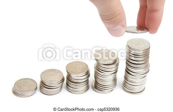 Increasing profit - csp5320936