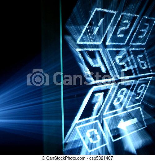cyber numpad - csp5321407
