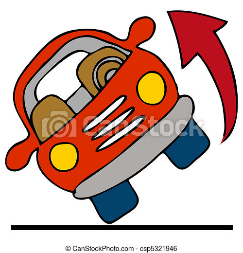 Automobile Rolling Over - csp5321946