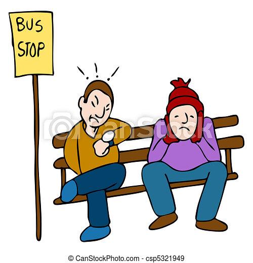 Late Bus - csp5321949