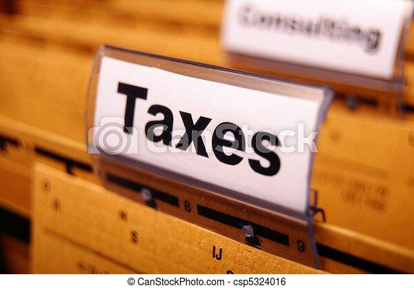 taxes - csp5324016