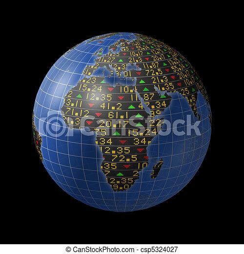 African economy as stock market - csp5324027
