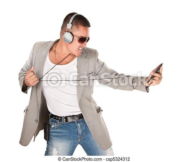 Male Latino Dancing - csp5324312