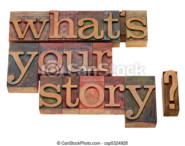 what is your story question - csp5324928