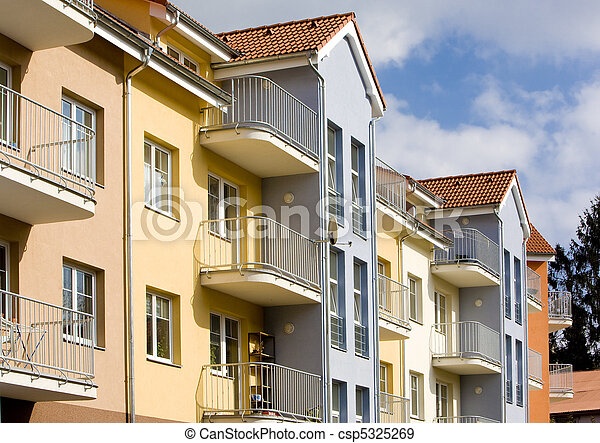 new housing estate, Czech Republic - csp5325269