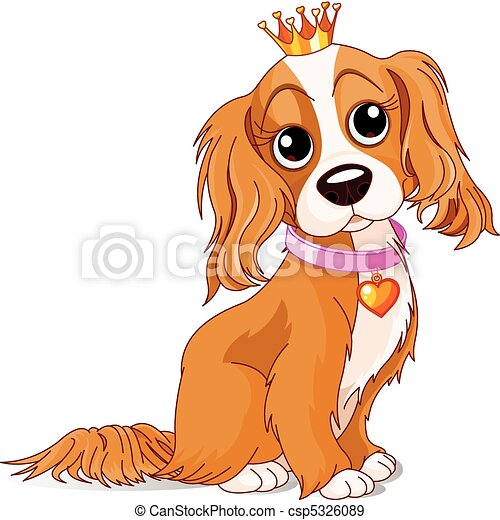 Royalty dog - csp5326089