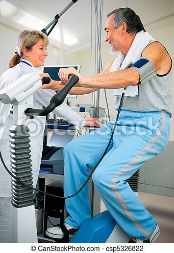 EKG test - csp5326822