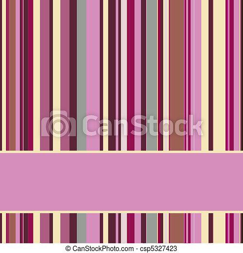 Purple striped background  - csp5327423