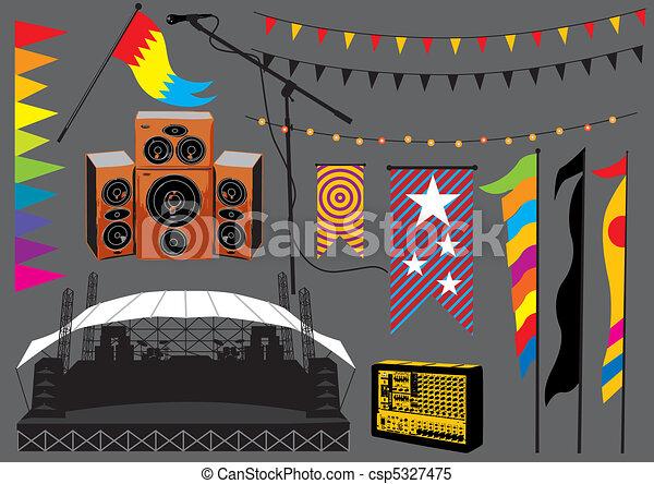 Music Festival - csp5327475