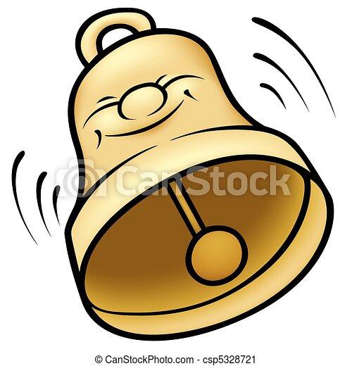 vektor clip art von goldenes  glocke    gef u00e4rbt liberty bell colors liberty bell coloring sheet