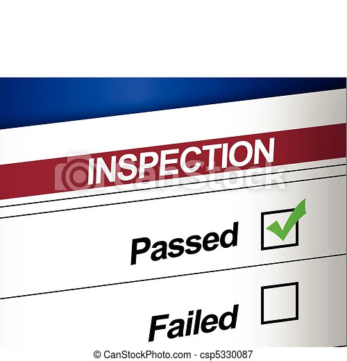 Inspection Results Passed - csp5330087