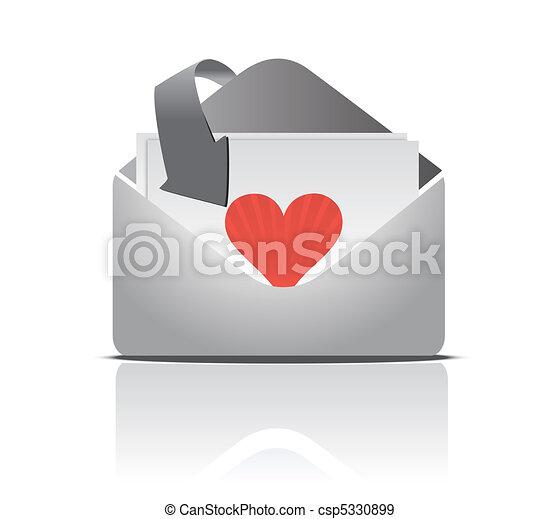 love letter - csp5330899
