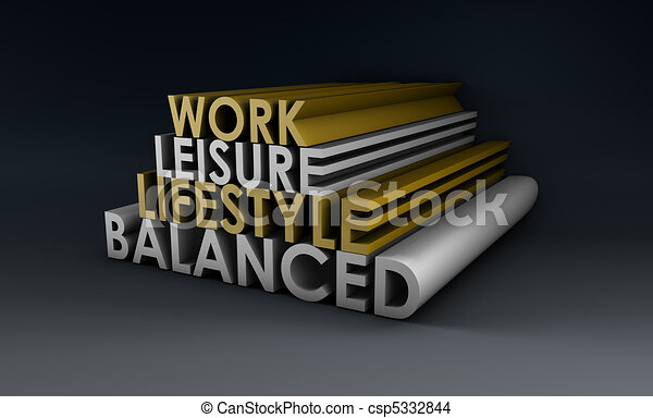 Balanced Lifestyle - csp5332844