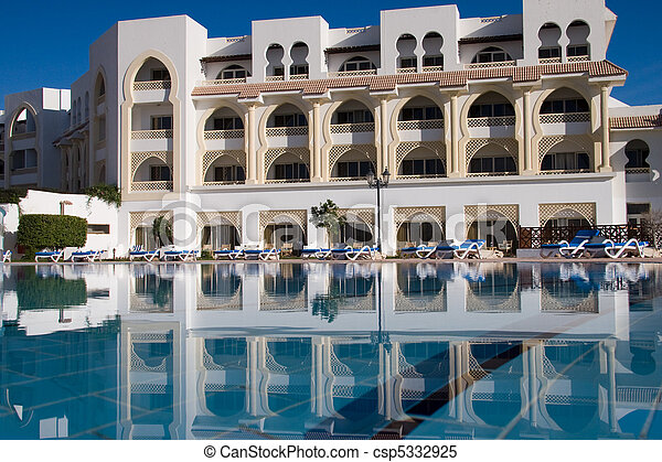 Stock images of pool near the 5 star hotel csp5332925 for Nearest 5 star hotel