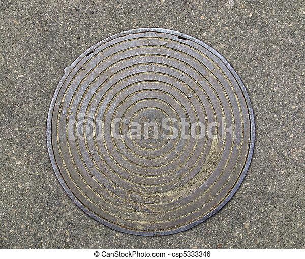 Cover of a manhole