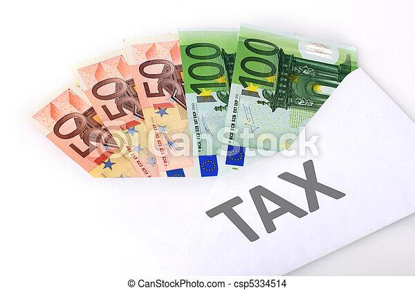 Tax concept. - csp5334514