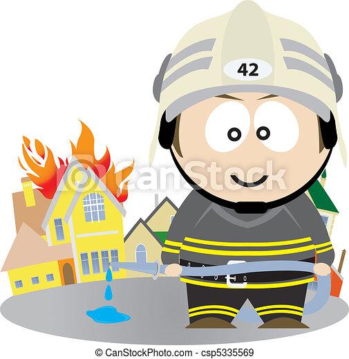 Firefighter - csp5335569